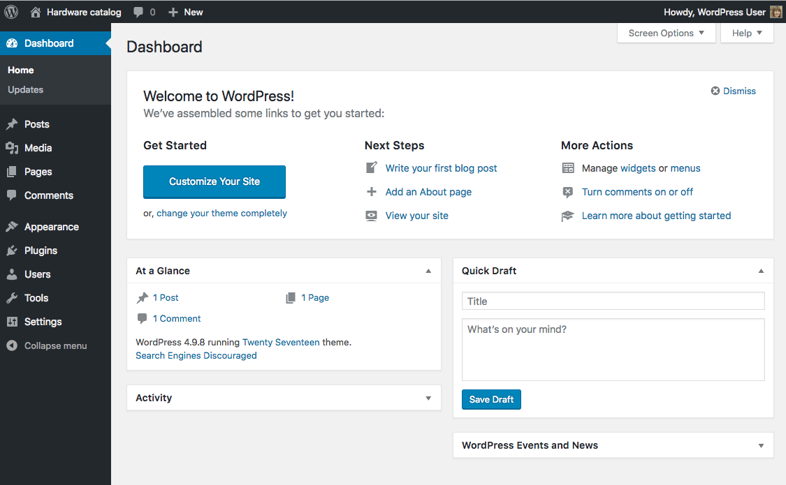 How to Migrate from a Custom Database Design into WordPress