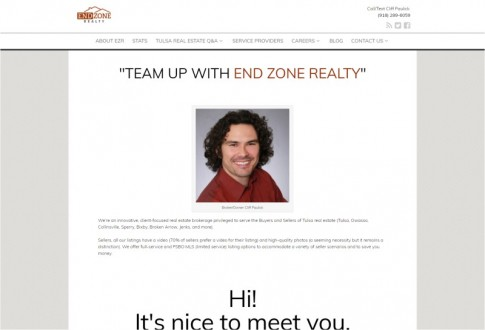 Real estate website in Oklahoma