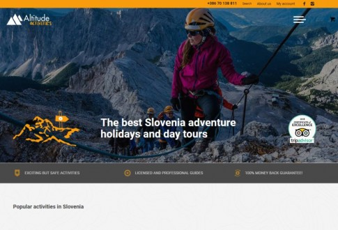 Woocommerce Toolset Website – Tours Booking System