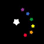 Starfall Graphics palette logo