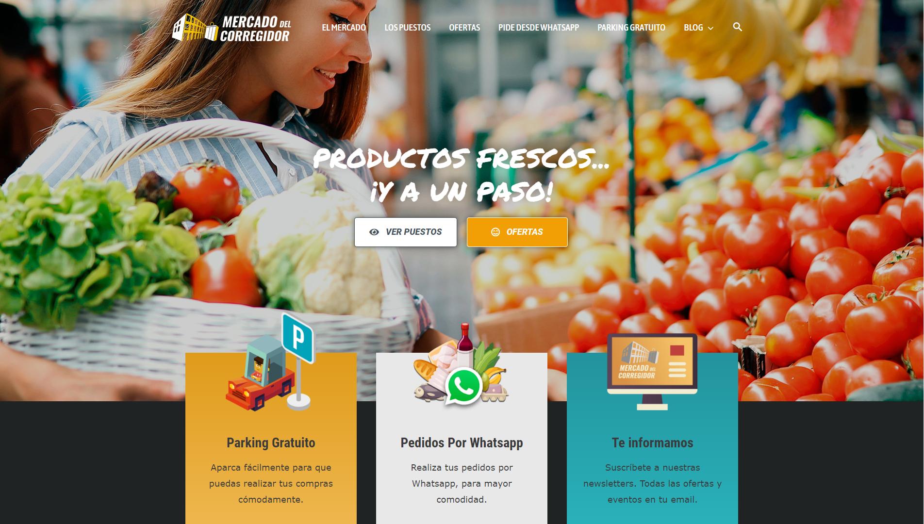 Mercado Del Corregidor