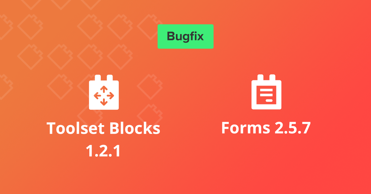 Blocks 1.2.1 and Forms 2.5.7 with usability improvements and bugfixes 3