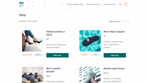 Building a custom WooCommerce Shop page