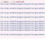 javascript error when using Layouts with WordPress 5.6.png