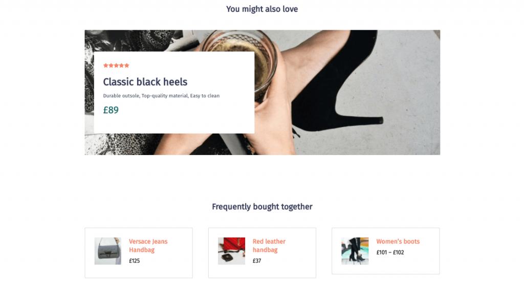Display upsells, and popular cross-sells using post relationships